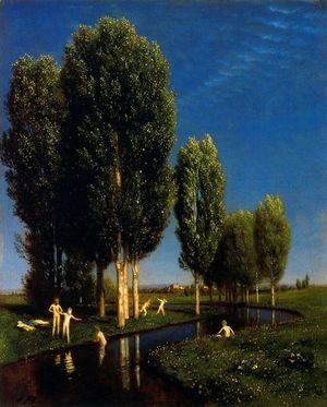 Arnold Böcklin - The Summer's Day, 1881