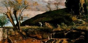 Arnold Böcklin - The Hunt of Diana, 1896