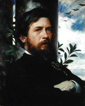 Arnold Böcklin - Self Portrait, 1873