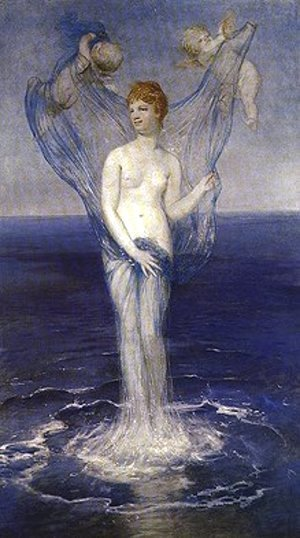 Arnold Böcklin - Birth of Venus  1868