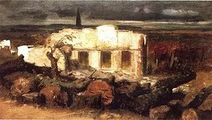 Bomb House Near Kehl, 1870
