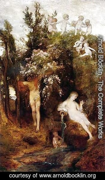 Arnold Böcklin - The Source of Spring