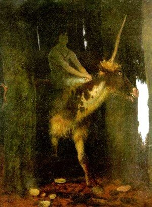 Arnold Böcklin - Silence of the Forest