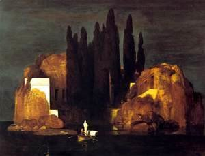 Arnold Böcklin - The Isle of the Dead, 1880 (2)