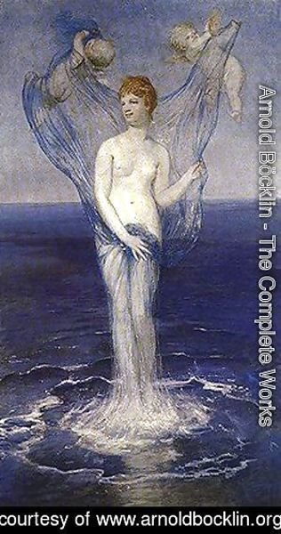 Arnold Böcklin - The Birth of Venus