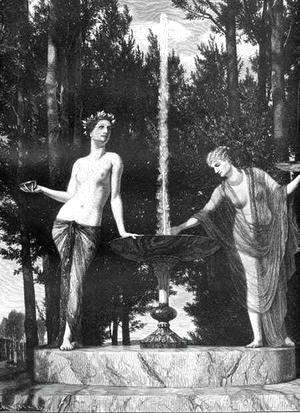 Arnold Böcklin - The Muses