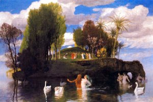 Arnold Böcklin - Island of Living