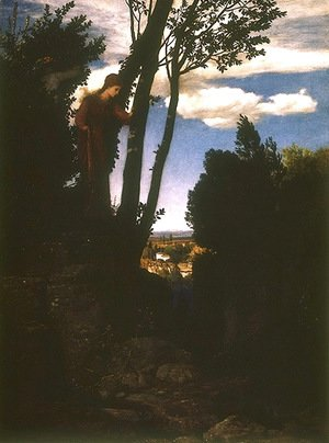 Arnold Böcklin - Landscape character in the vicinity of Florence