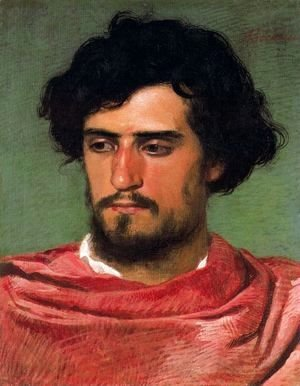 Arnold Böcklin - Portrait of a young Roman
