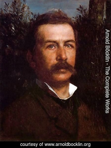 Arnold Böcklin - Self portrait