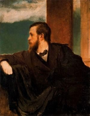 Arnold Böcklin - Self portrait 2