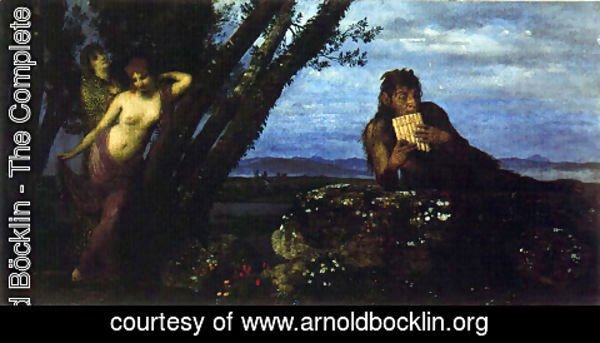 Arnold Böcklin - Spring Evening