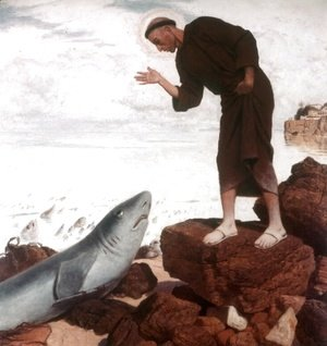 St. Anthony preaches the fish