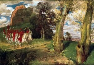 Arnold Böcklin - The Moors Cavaliers