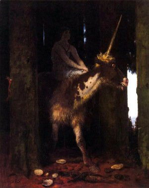 Arnold Böcklin - The Silence of the woods