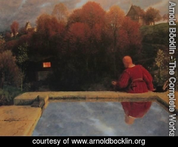 Arnold Böcklin - Returning home